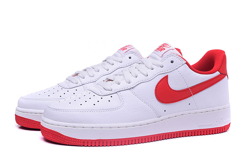air force 1 femme rouge et or